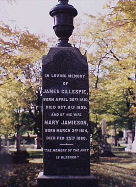Gillespie Monument